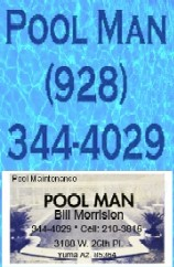 Swimming Pool Maintenance in Yuma Arizona